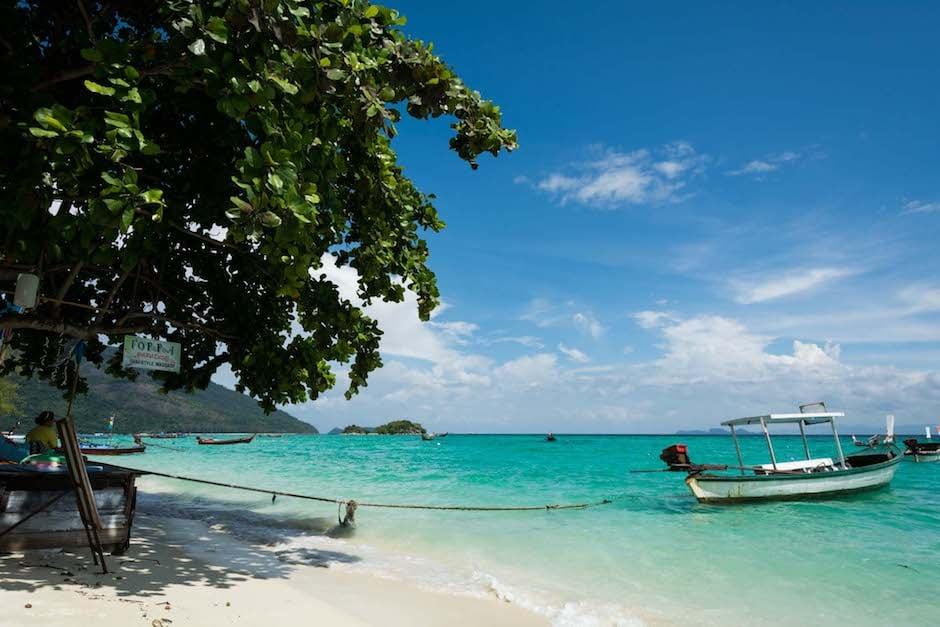 Thailand instagram bateau